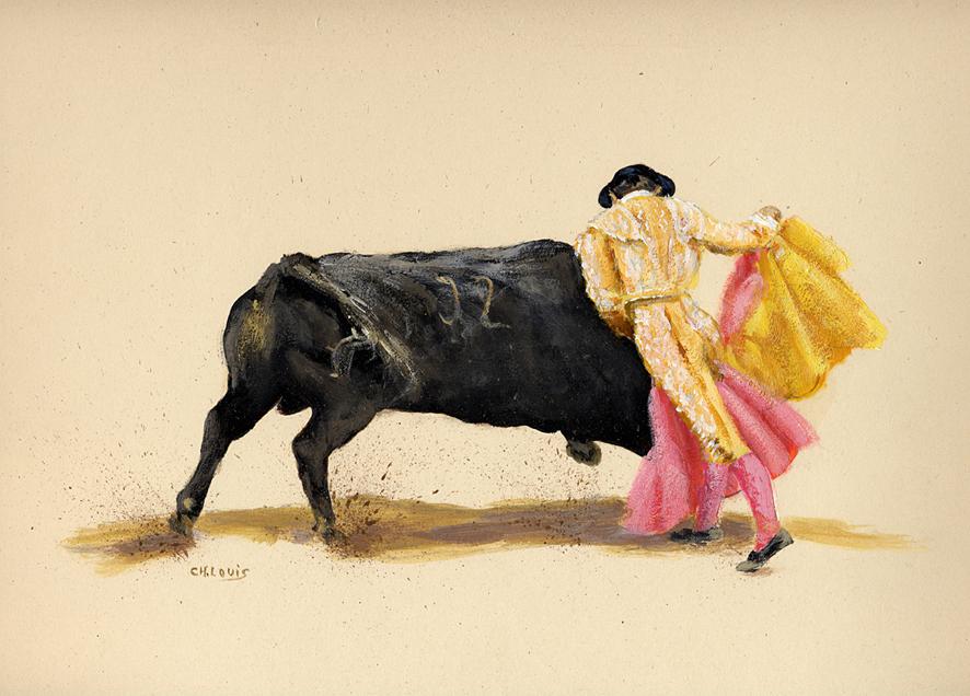 Toros (sans titre) - Charles Louis Cartier