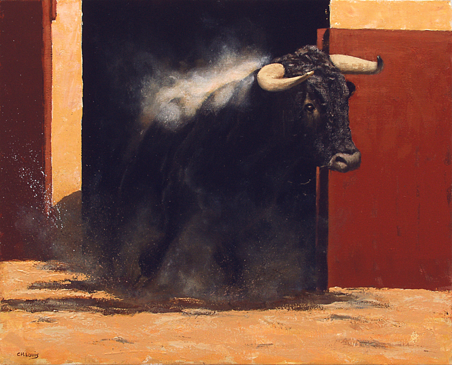 Sortie de toril - Charles Louis Cartier