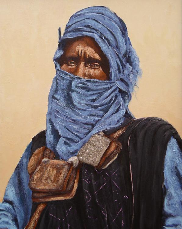 Touareg (sans titre) - Charles Louis Cartier